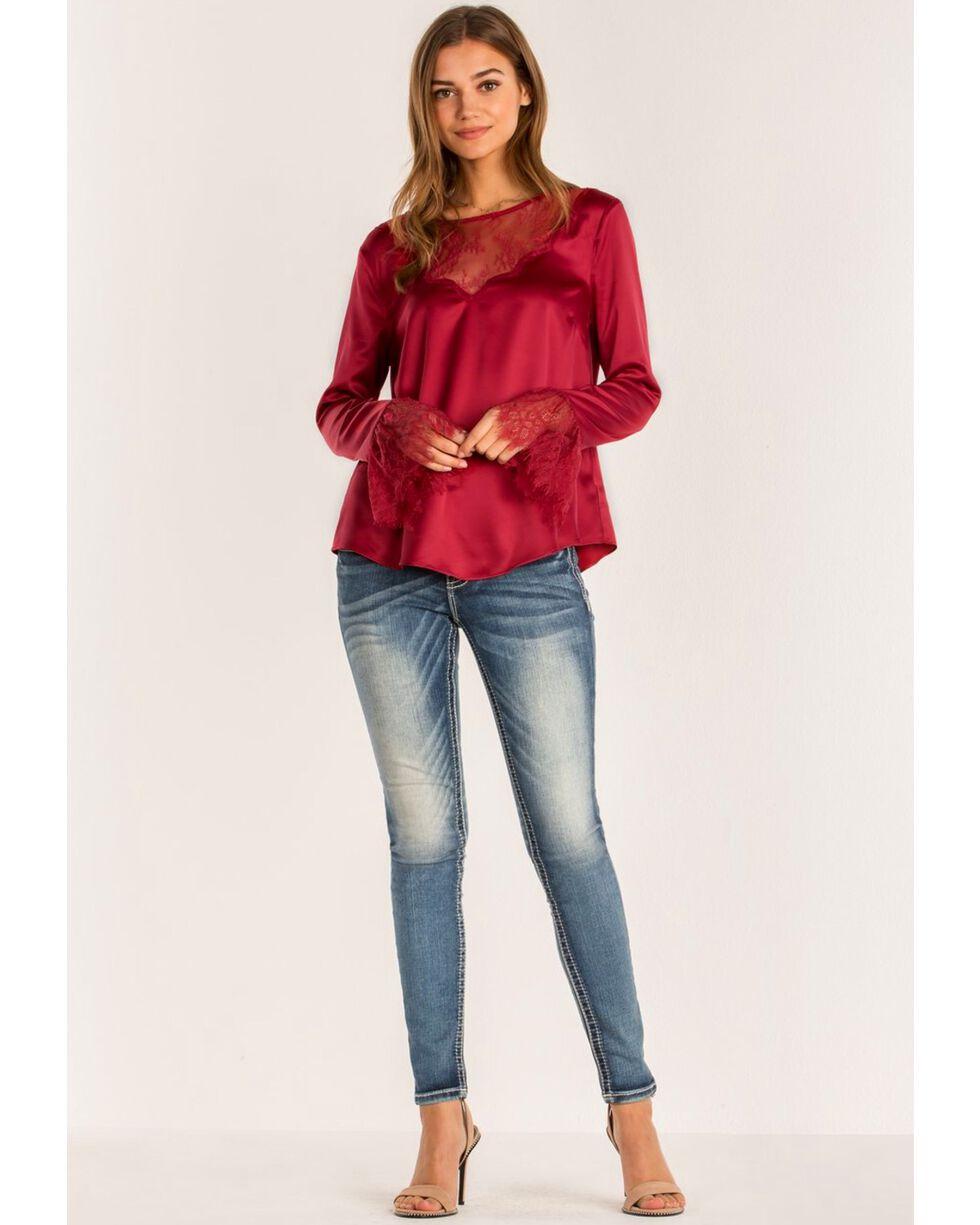 Miss Me Women's Hailey Skinny Jeans, Blue, hi-res