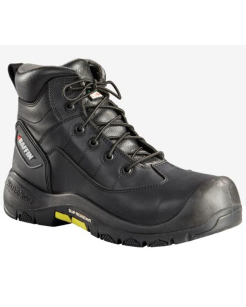 Baffin Men's Chaos Waterproof Work Boots - Composite Toe, Black, hi-res