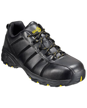 Nautilus Men's Athletic Work Shoes - Composite Toe, Black, hi-res
