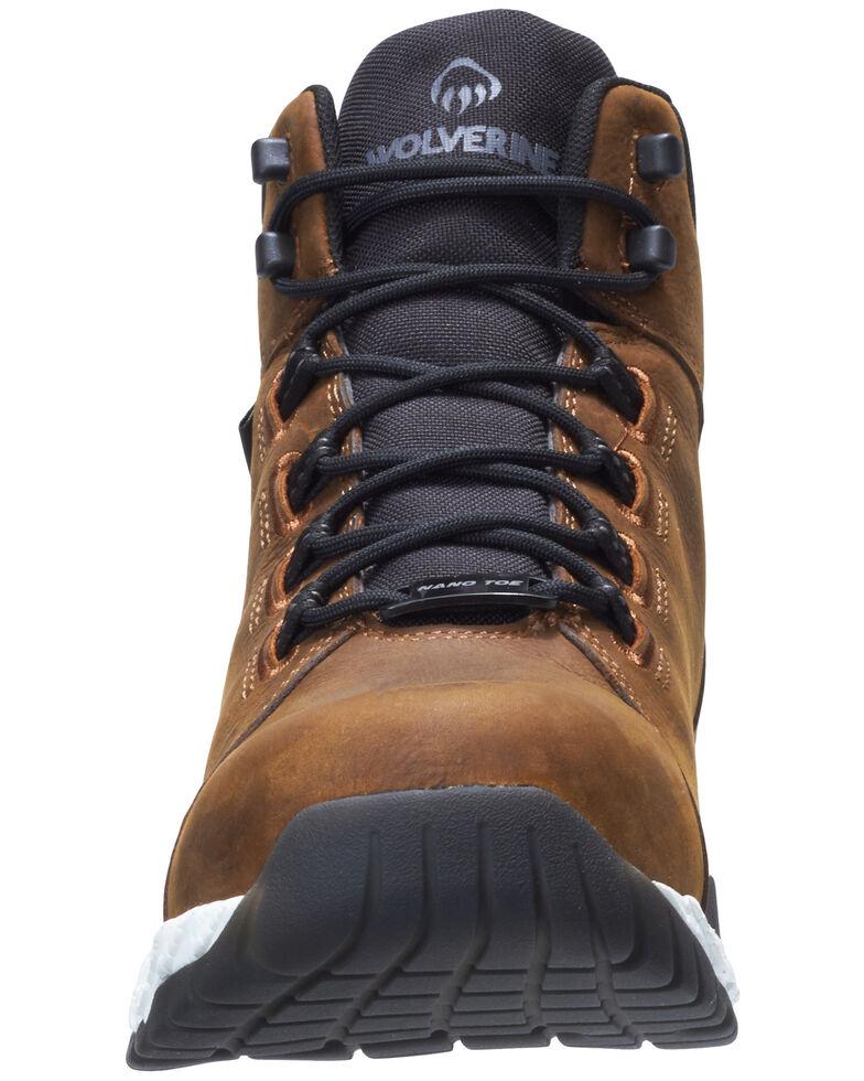 Wolverine Men's Brown I-90 Rush Work Boots - Soft Toe, , hi-res