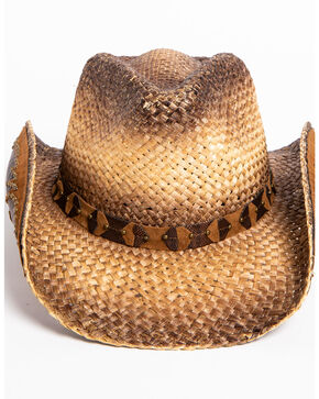 Shyanne® Women's Rustic Tan Straw Hat, Brown, hi-res