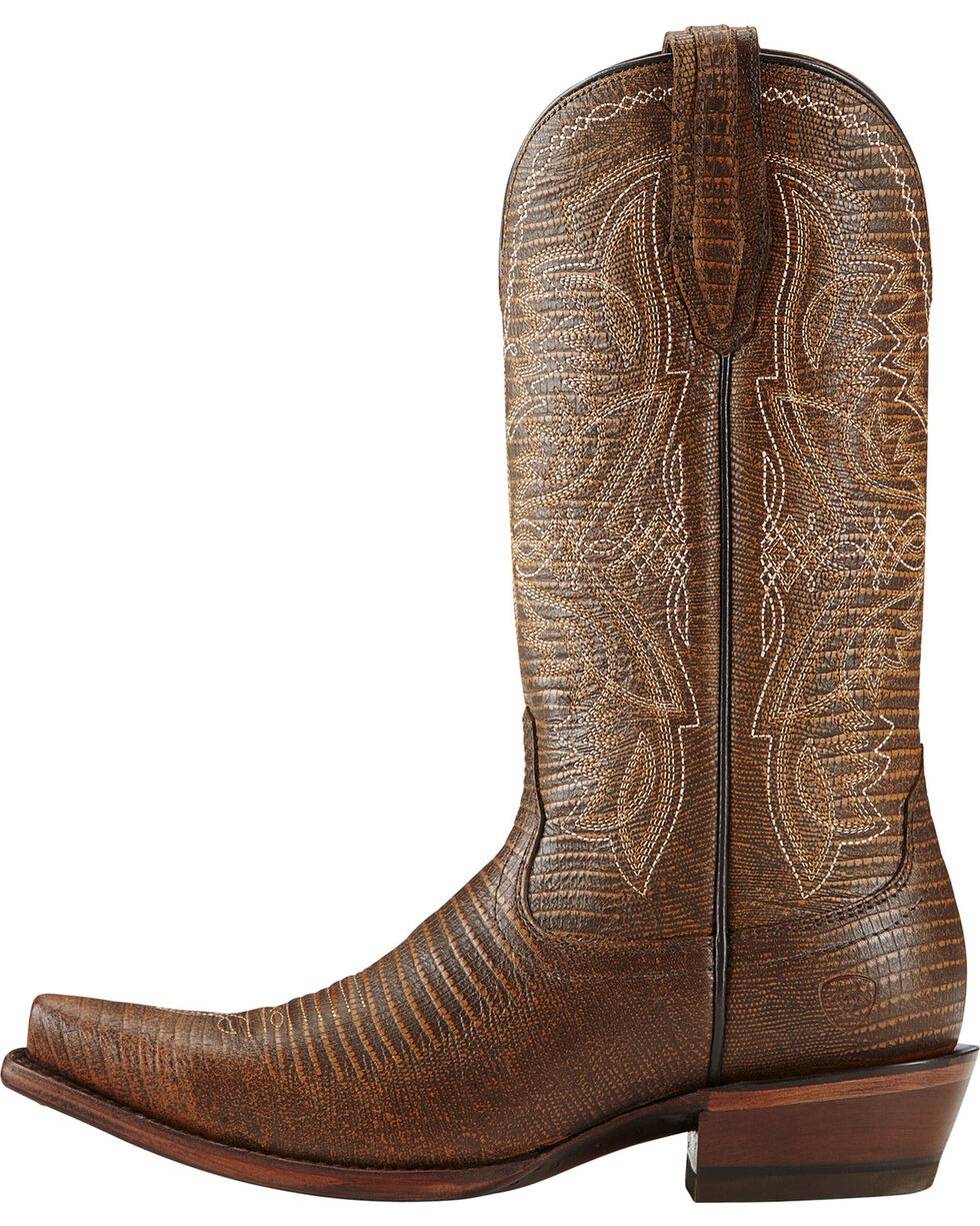 Ariat Women's Alamar Western Boots, Chocolate, hi-res