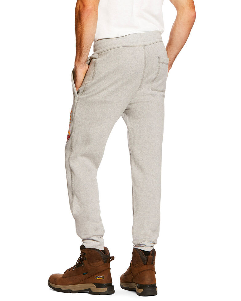 Ariat Men's FR Work Sweatpants - Big, Heather Grey, hi-res