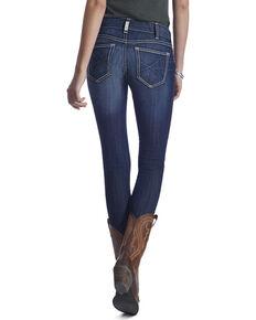 Ariat Women's Ella Mid Rise Skinny Jeans, Blue, hi-res