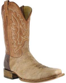 Corral Men's Square Toe Shoulder Western Boots, Brown, hi-res