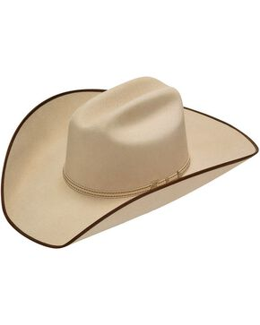 Twister Ruidoso 2X Select Wool Cowboy Hat, Silverbelly, hi-res