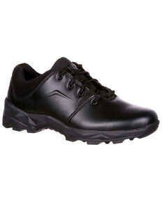 Rocky Men's Elements of Service Duty Shoes - Round Toe, Black, hi-res