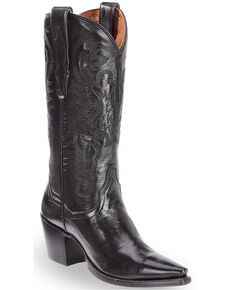 Dan Post Women's Maria Western Boots, Black, hi-res