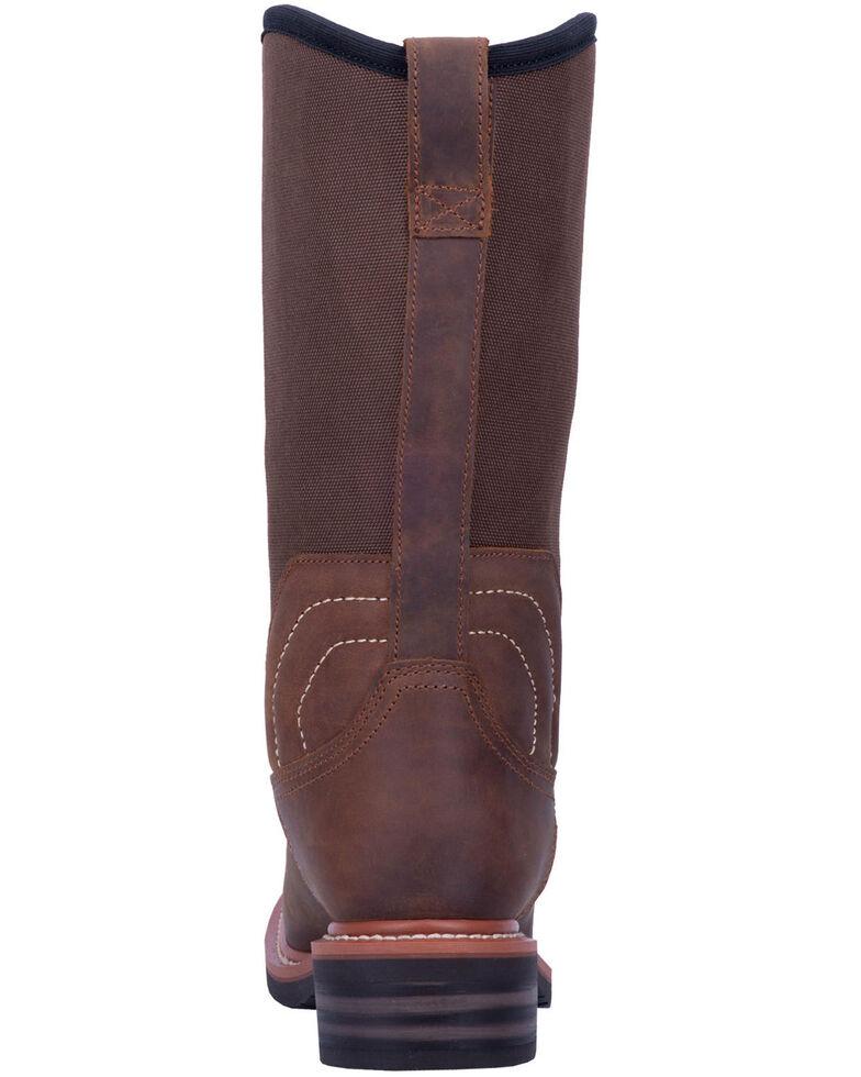 Dan Post Men's Stockyard Waterproof Western Boots - Wide Square Toe, Brown, hi-res