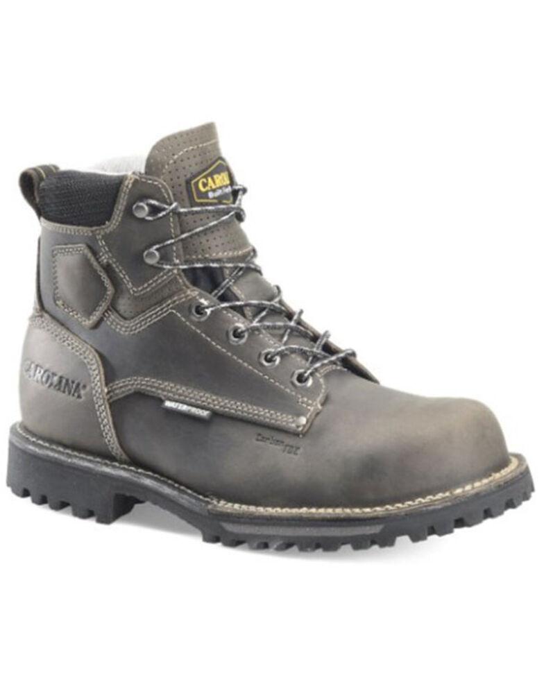 Carolina Men's Pitstop Waterproof Work Boots - Soft Toe, Grey, hi-res