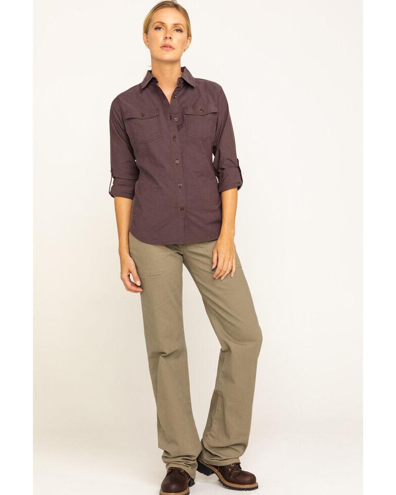 Wrangler Riggs Women's Bark Advanced Comfort Work Pants , Bark, hi-res