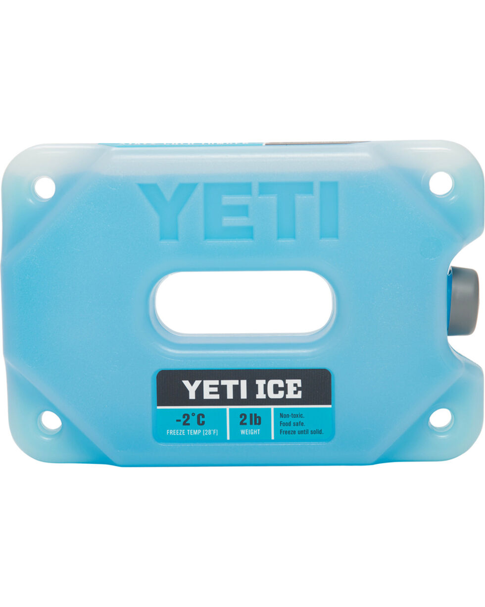 YETI Coolers Two-Pound Ice Pack, Blue, hi-res