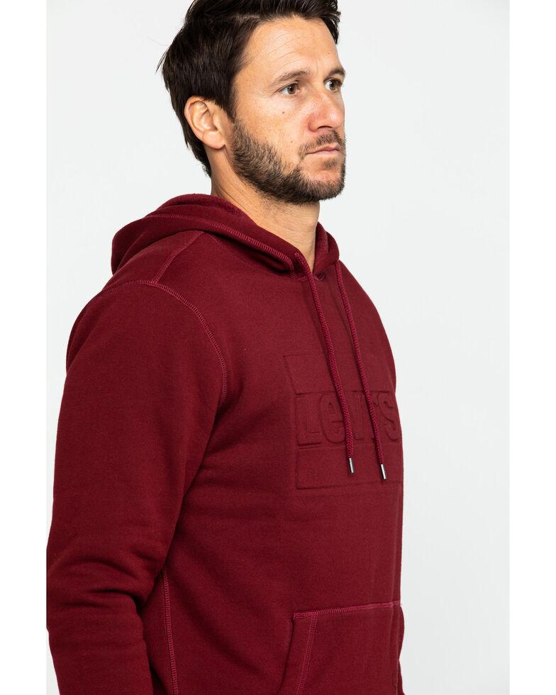 Levi's Men's Burgundy Arena Fleece Hooded Sweatshirt , Burgundy, hi-res