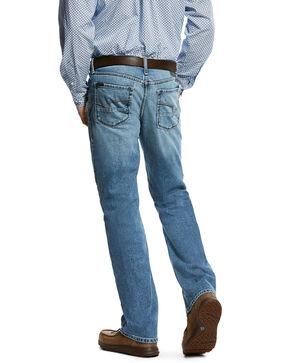 Ariat Men's Nolan Mitch Slim Straight Jeans, Blue, hi-res