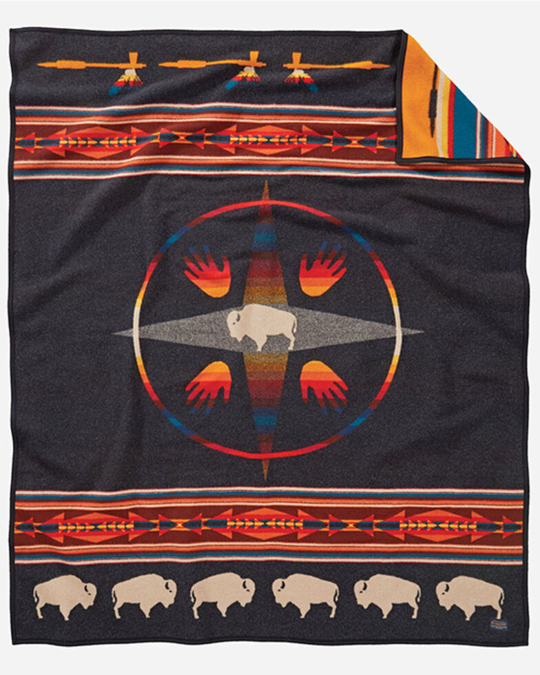Pendleton Big Medicine Robe Blanket , Multi, hi-res