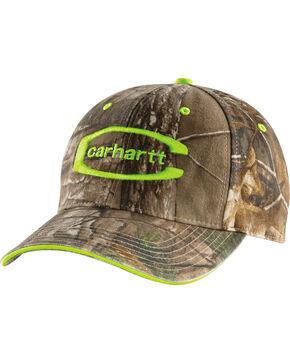 Carhartt Camo Midland Cap, Lime, hi-res