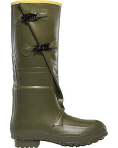 "LaCrosse Men's Insulated 2-Buckle 18"" Hunting Boots, Green, hi-res"