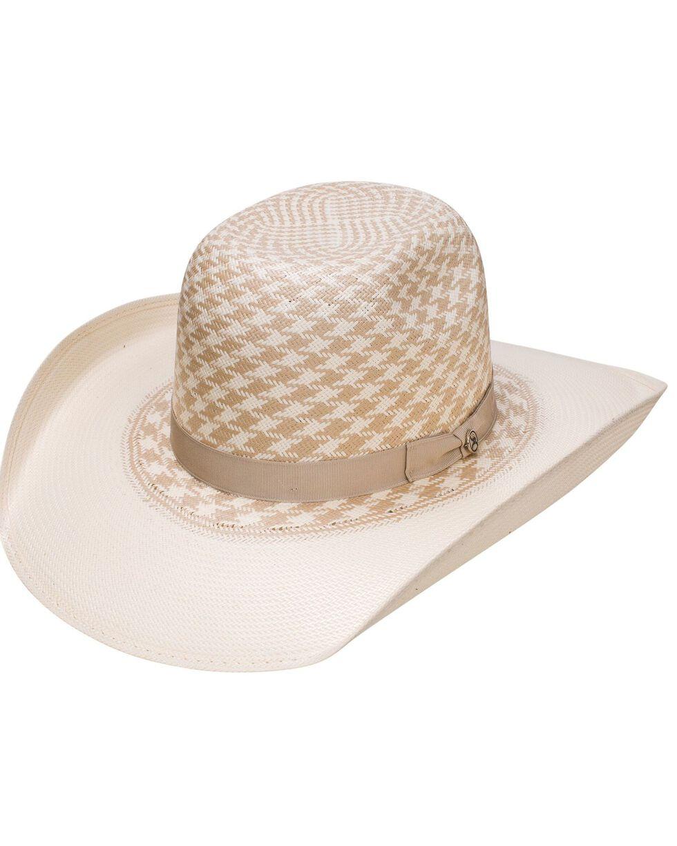 HOOey Resistol Youth Boys' Wesley Tan Pattern Cowboy Hat, Natural, hi-res