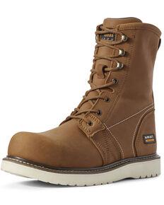Ariat Men's Golden Grizzly Work Boots - Composite Toe, Brown, hi-res