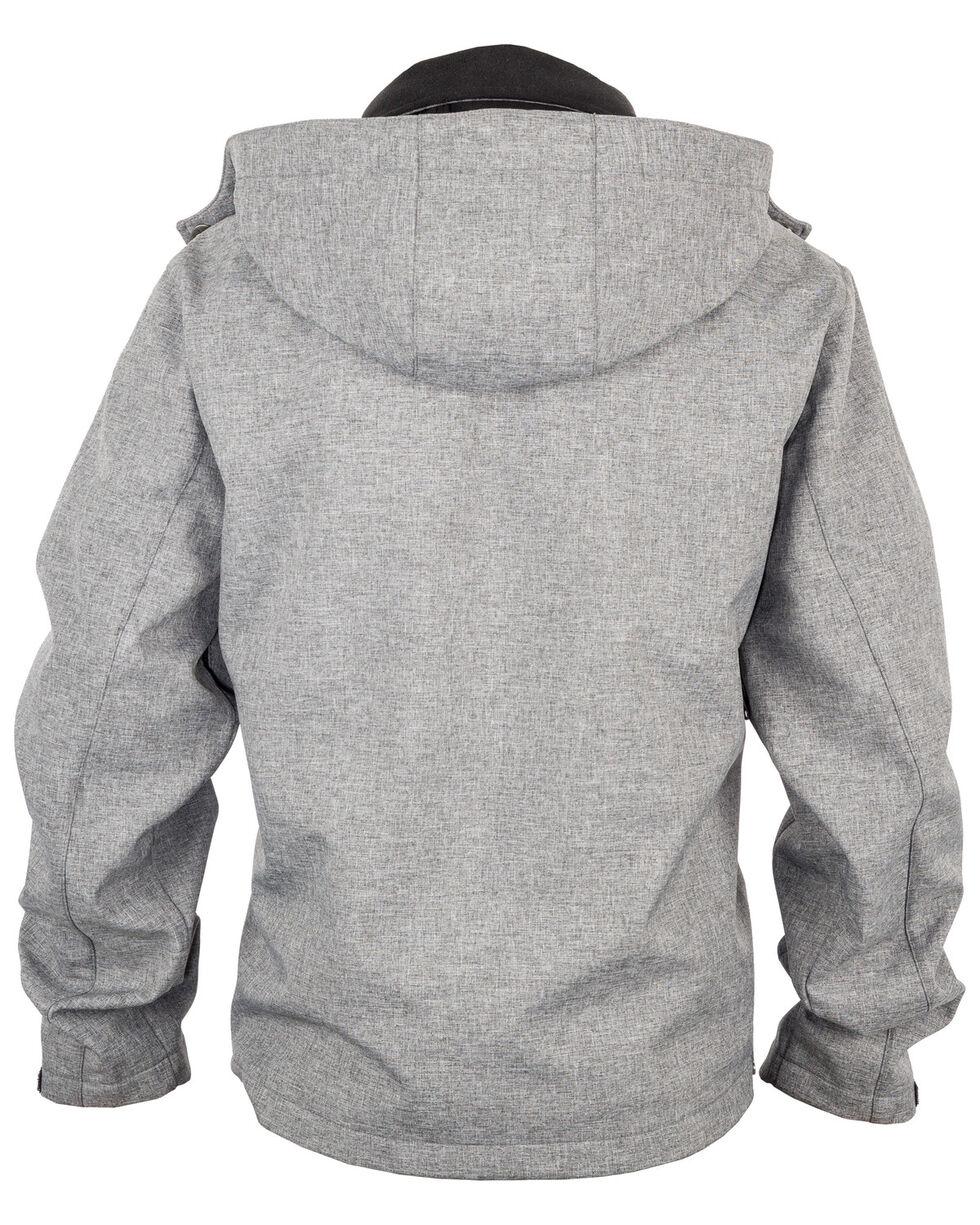 STS Ranchwear Men's Light Grey Barrier Jacket - Big , Heather Grey, hi-res
