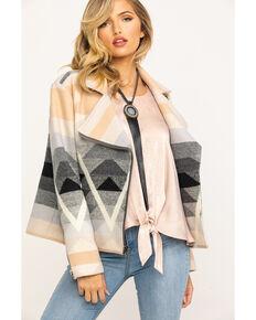 Pendleton Women's Geo Jacquard Luxe Moto Jacket , Multi, hi-res