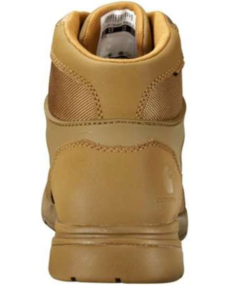 Carhartt Men's Force Waterproof Work Boots - Soft Toe, Coffee, hi-res