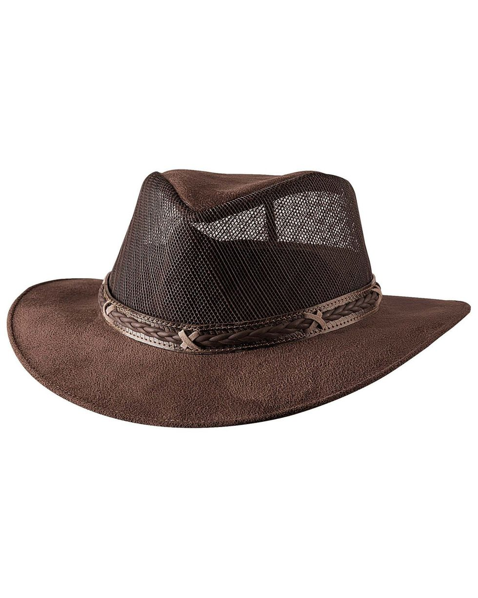 Bullhide Women's Altamont Straw Hat, Chocolate, hi-res