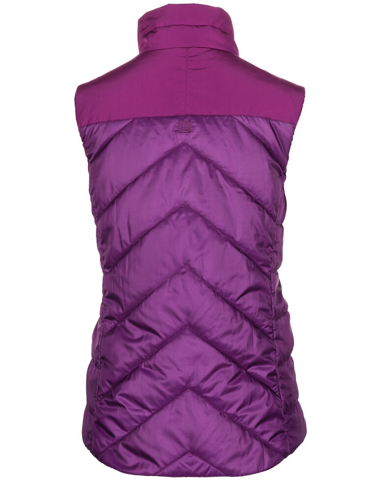 5.11 Tactical Women's Peninsula Insulator Pack-able Vest, Purple, hi-res
