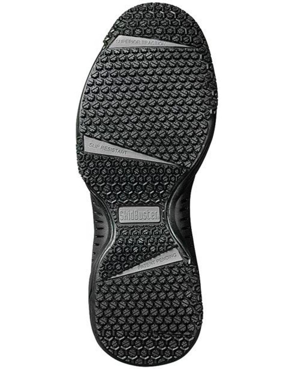 SkidBuster Women's Slip Resistant Work Shoes, Black, hi-res