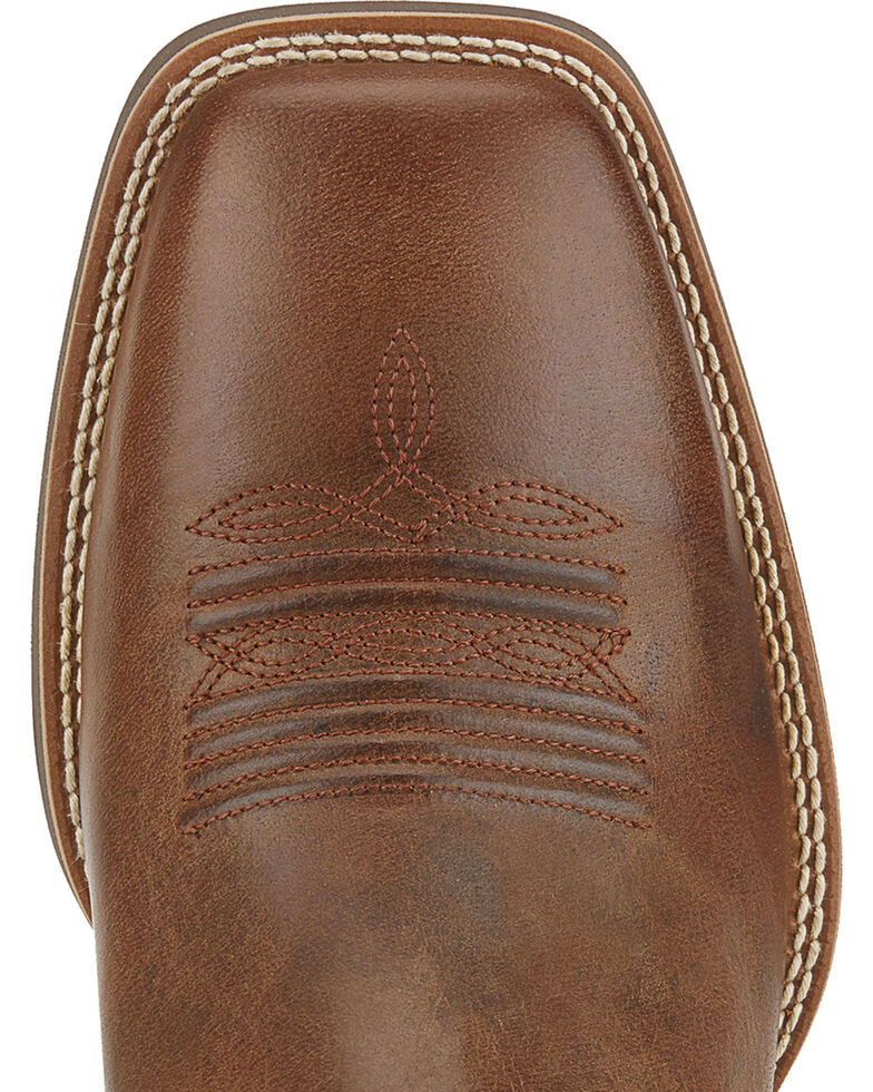 Ariat Men's Sport Square Toe Western Boots, Sandstorm Brown, hi-res