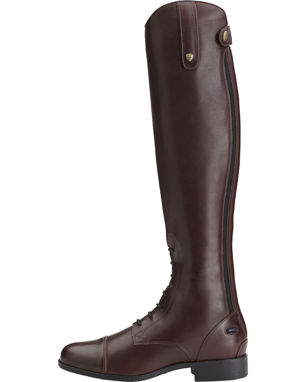 Ariat Women's Heritage Contour Field Zip English Boots, Sienna, hi-res