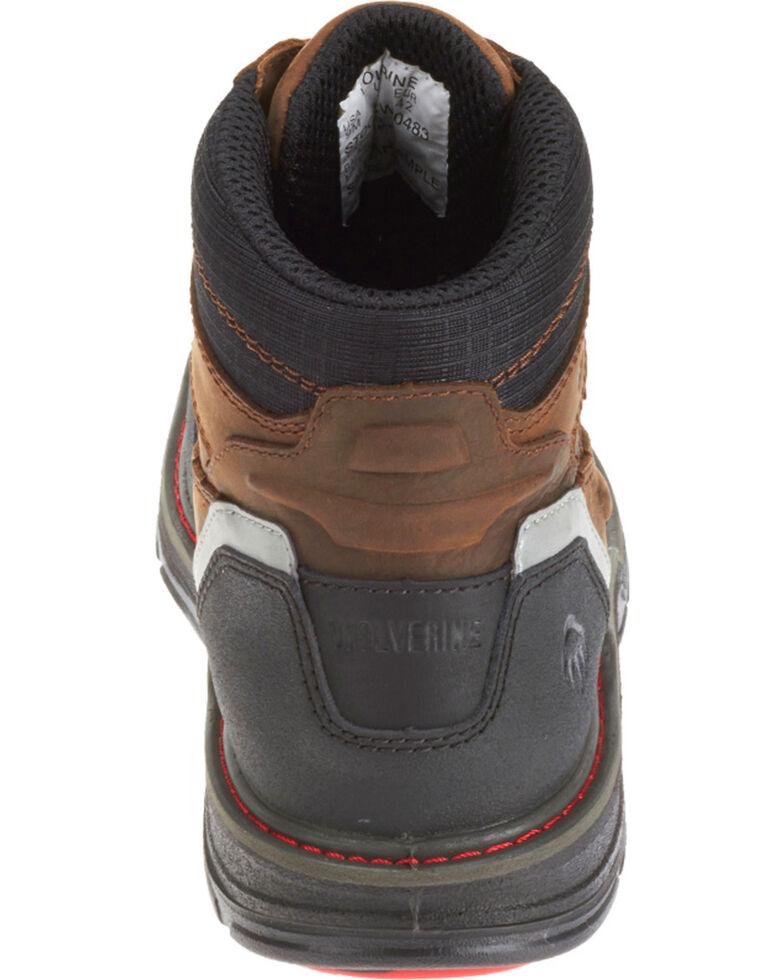ab68070ef91 Wolverine Men's Brown Overman Waterproof Carbonmax 6