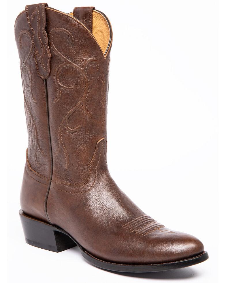 Cody James Men's Batik Saddle Western Boots - Round Toe, Brown, hi-res