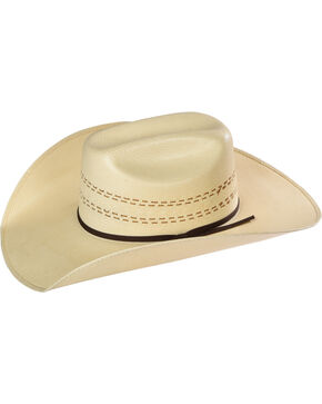Resistol Men's 20X Childress Straw Hat, Natural, hi-res