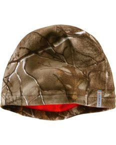 Carhartt Men's Force Swifton Camo Fleece Cap, Camouflage, hi-res