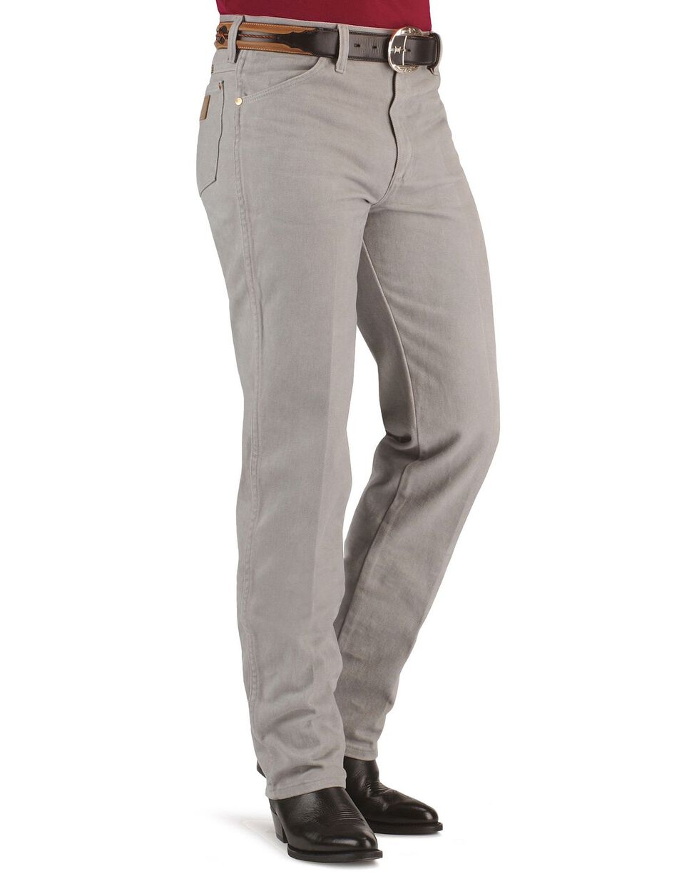 Wrangler Men's Slim Fit 936 Cowboy Cut Jeans, Cement, hi-res