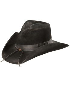 Charlie 1 Horse Women's Desperado Wool Hat, Black, hi-res