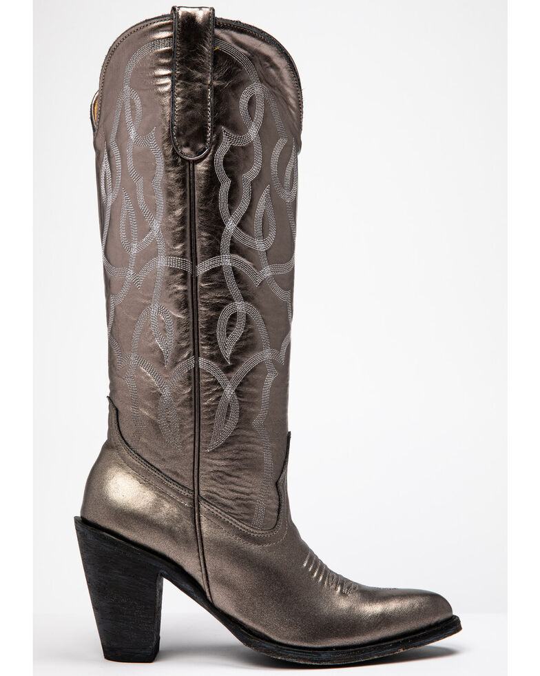 Idyllwind Women's Revenge Western Boots - Round Toe, Silver, hi-res
