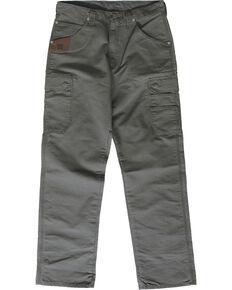 Wrangler Riggs Men's Loden Cargo Work Pants , Loden, hi-res