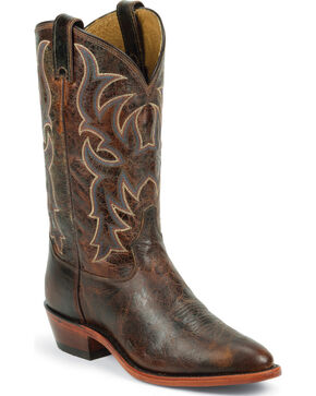 Tony Lama Men's Americana Western Boots, Brown, hi-res