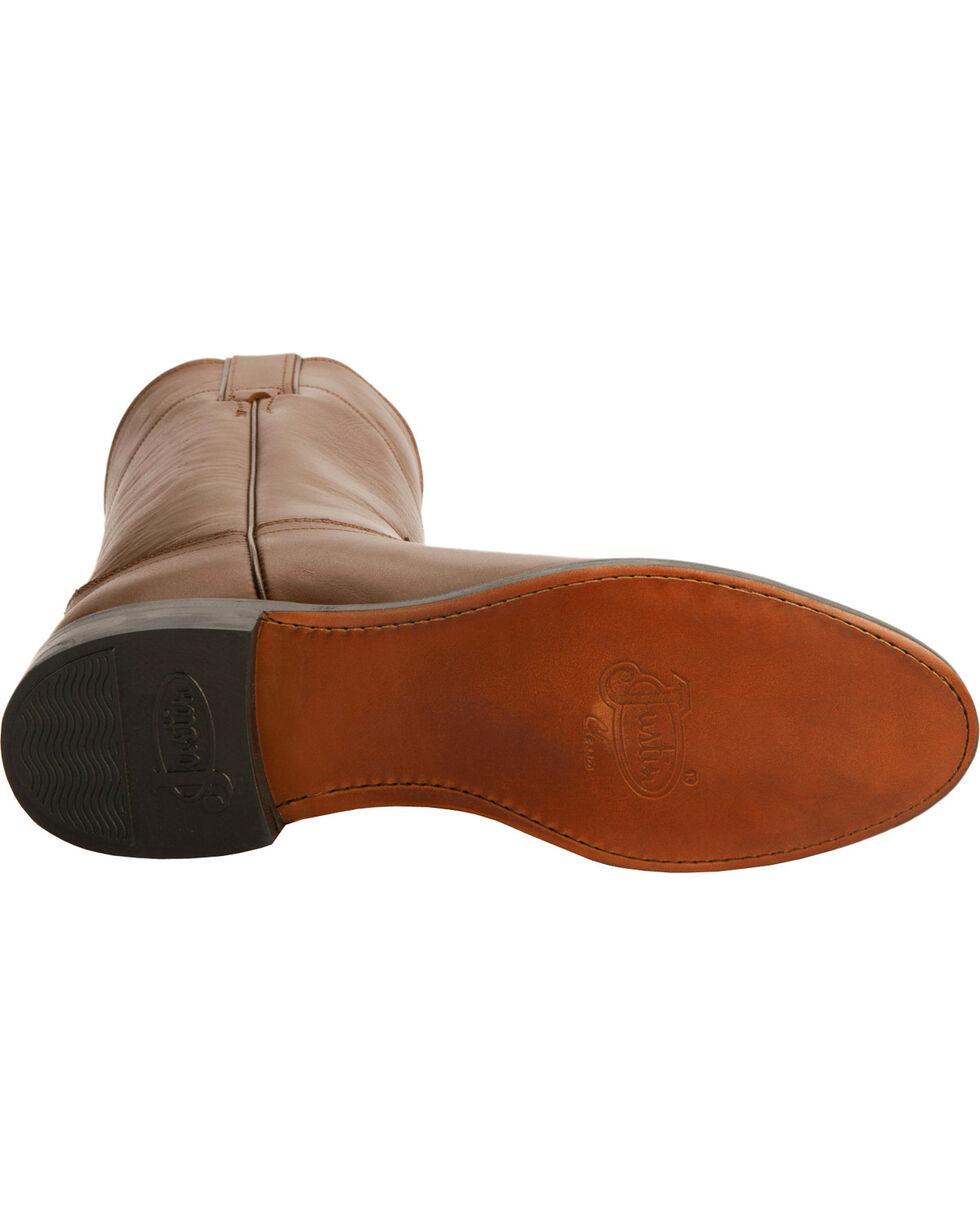 Justin Men's Kiddie Roper Western Boots, Tan, hi-res