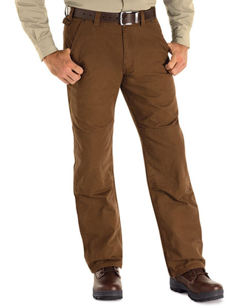 Red Kap Brown MIMIX Utility Work Jeans, Brown, hi-res