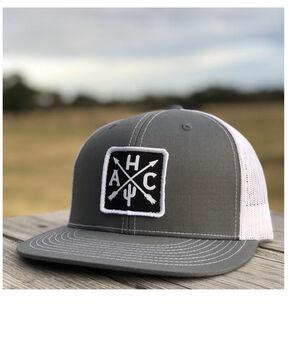 Armadilloo Hat Co. Men's Cherokee Trucker Cap, Grey, hi-res