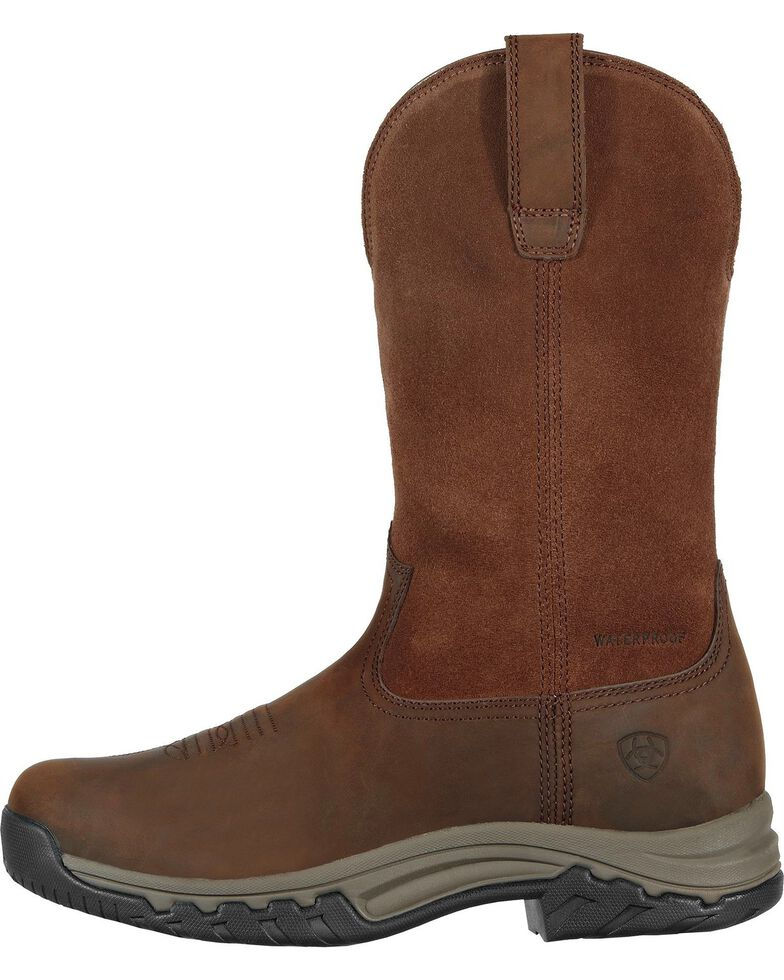 Ariat Women's Terrain H2O Work Boots, Distressed, hi-res
