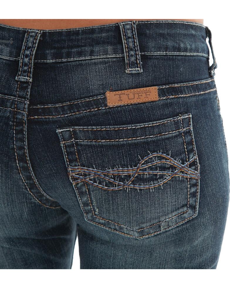 Cowgirl Tuff Women's Boot Cut Jeans, Indigo, hi-res