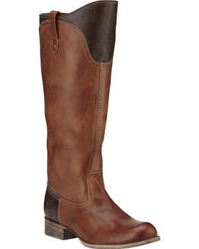 Ariat Women's Paragon Western Fashion Boots, Brown, hi-res