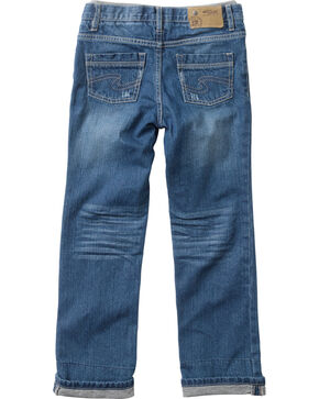 Silver Boys' Benny Straight Leg Jeans - 4-7, Denim, hi-res