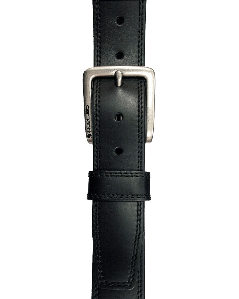 Carhartt Men's Black Hamilton Work Belt, Black, hi-res