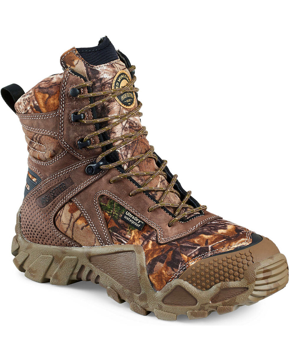 Irish Setter by Red Wing Shoes Men's Vaprtrek Realtree Xtra Waterproof Boots , , hi-res