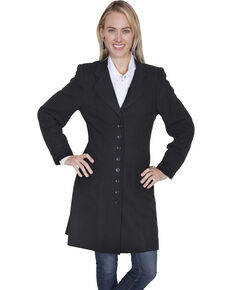 WahMaker by Scully Wool Frock Coat, Black, hi-res